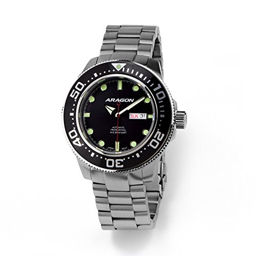 Aragon-A064BLK-Divemaster-Automatic-45mm