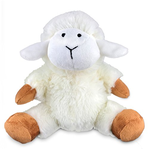 Plush Lamb - 7 Inches Soft Stuffed Animal Sheep for Babies - No Buttons or Beads - By EpicKids