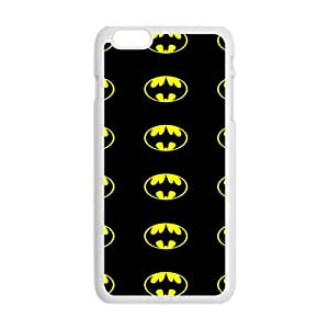 QQQO Batman Logo Cell Phone Case for Iphone 6 Plus