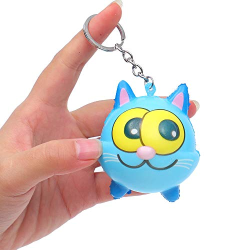 Keychain Toy Cute Animal Squeeze Slow Rising Decompression Toys, Cute Doll Keychain for Car Keyring, Charm Gift ( F) from Hisoul
