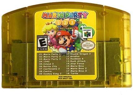 Amazon com: Nintendo N64 18 in 1 Card Mario Party 1 2 3 Aggregation
