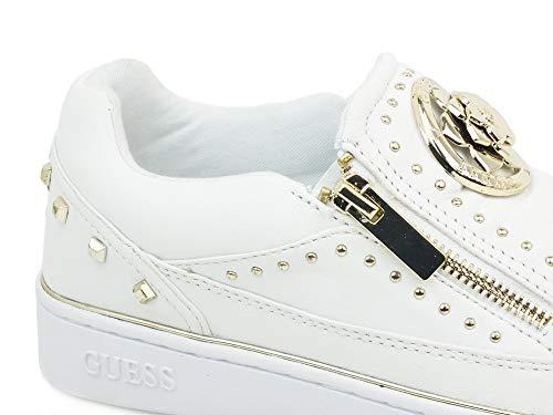 Mujer Cordones Zapatos Bianco Guess Zapatillas Sin Fl5beelea12 SpPg5q