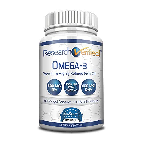 Research Verified Omega Aftertaste Capsules product image
