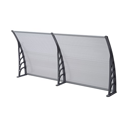 eight24hours-40-x-80-patio-door-window-awning-canopy-cover-polycarbonate-rain-protection
