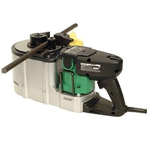Hitachi VB16Y Portable Variable Speed Rebar Cutter Bender, Up to Number 5 (3/8, 1/2, 5/8) Grade 60 Rebar, 3.1 Second Cut, 8.0 Amp