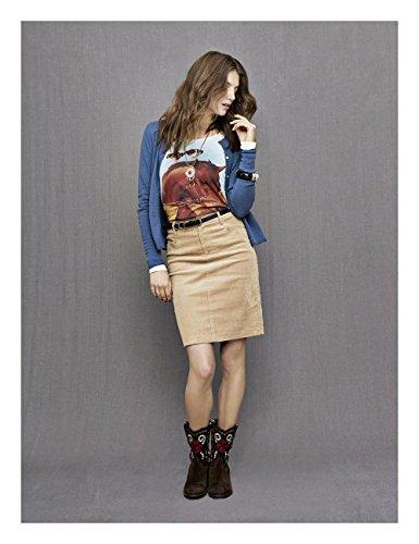 Brigitte von Boch - Camiseta de manga larga - para mujer
