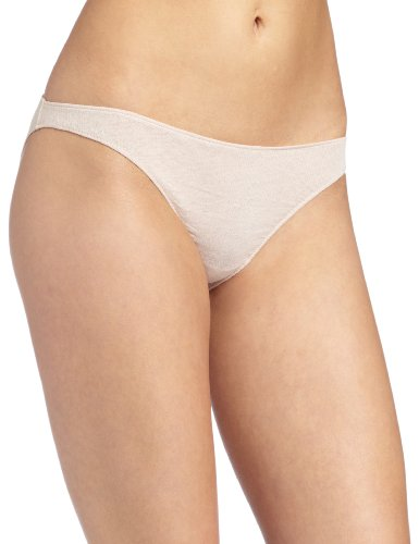 Only Hearts Women's Organic Cotton Bikini, Bone, Medium
