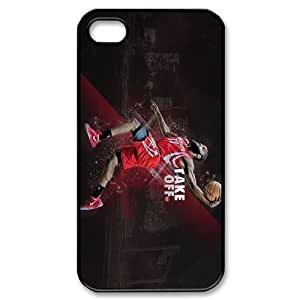Generic Cell Phone Cases For Iphone 4 4S Cell Phone Design With 2015 NBA #13 James Harden Houston Rocket niy-hc829088