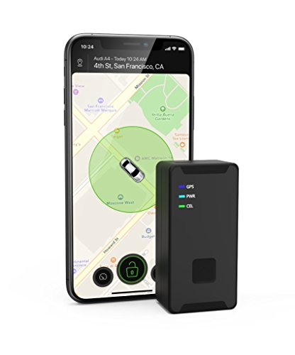 CARLOCK PORTABLE – Advanced Multi-Purpose GPS Tracking System. Monitor the Location of Your Trailer, Tools, Equipment, Luggage, Children, Etc. Real-Time Notifications Through an Easy-to-Use Phone App. by CarLock
