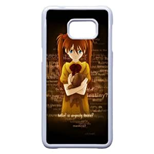 5 Edge caja del teléfono celular de la muchacha Juguete Soledad Samsung Galaxy Note funda blanca del teléfono celular Funda Cubierta EEECBCAAJ73920