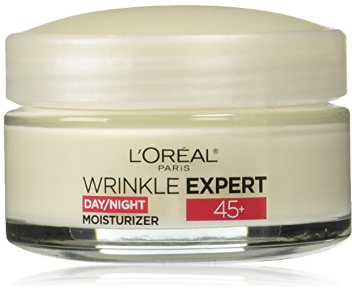 41nnXpQYJuL - L'Oreal Paris Skincare Wrinkle Expert 45+ Anti-Aging Face Moisturizer with Retino-Peptide, Non-Greasy, Suitable for Sensitive Skin, 1.7 fl. oz.