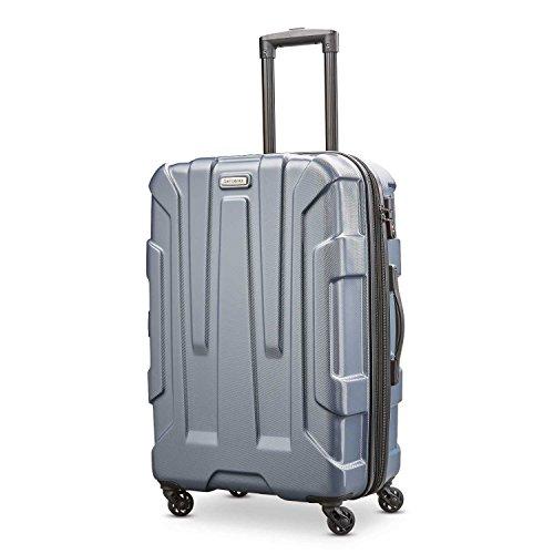 Samsonite Checked-Medium, Blue Slate (Best Lightweight Checked Luggage)