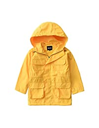 M2C Kids Outdoor Hooded Windproof Rain Coat