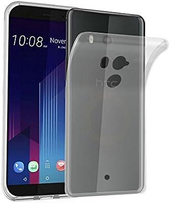 Cadorabo Funda para HTC U11 Plus en Transparente – Cubierta ...