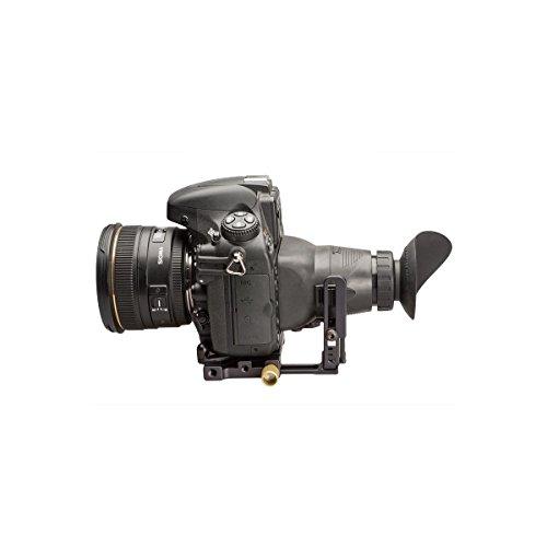 Hoodman Live View Kit for All DSLR Cameras, Includes H30MB HoodLoupe Outdoor Loupe, H32B HoodLoupe Base, HTE Teardrop HoodEye, HCP Base Plate by Hoodman