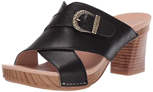 lide Sandal, Black Burnished Calf, 42 M EU (11.5-12 US) ()