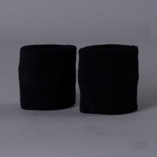 Nike Swoosh Wristbands schwarz