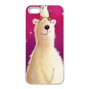 ZK-SXH - Polar Bear Customized Hard Back Case for iPhone 5,5G,5S, Polar Bear Custom Cell Phone Case