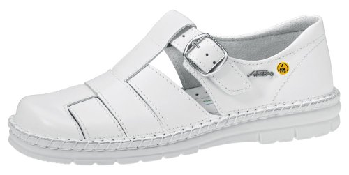 Abeba 36600–38Reflexor Schuhe Sandale ESD Größe 38Weiß