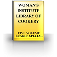 WOMAN'S INSTITUTE LIBRARY OF COOKERY - FIVE VOLUME BUNDLE SPECIAL - COMPLETE COLLECTION