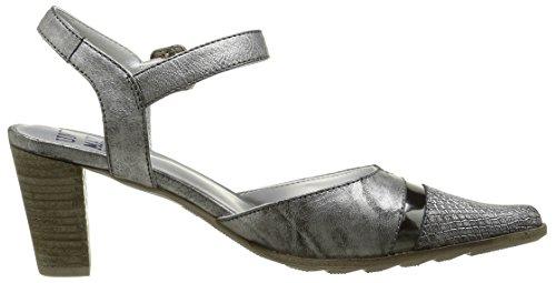 Un Matin dEté Tanael Mo Maraja/malindi Nero/t Spe Carbone - Zapatos de vestir Mujer Negro