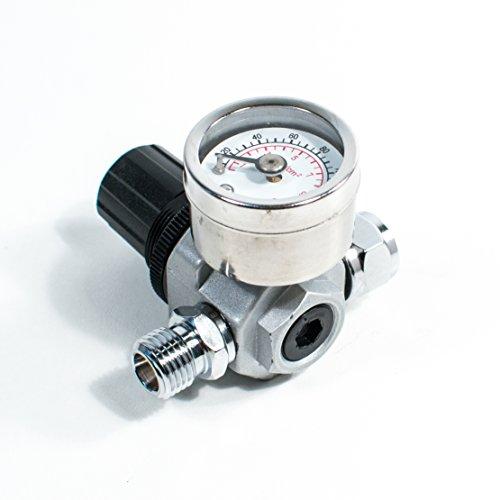 HVLP Spray Gun Air Regulator with Pressure Gauge and Diaphra