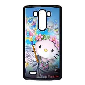 Hello Kitty LG G3 Cell Phone Case Black 05Go-457635