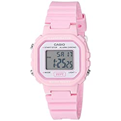 Casio Women's Classic Quartz Watch with Resin Strap, Pink, 9 (Model: LA-20WH-4A1CF