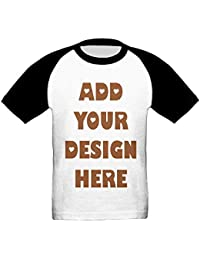 Add Your Custom Text Name Personalized Message or Image Boy girl TShirt for Kids