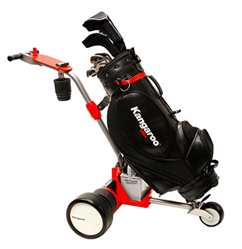 Kangaroo Model 5 Electric Golf Cart with Hands-On Steering (Inferno Red color)