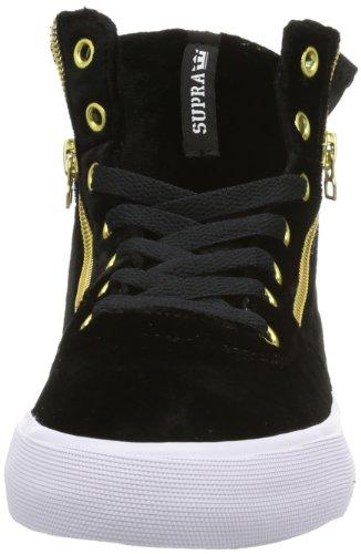 Bct Schwarz Black Damen Cheetah WOMENS CUTTLER SW35006 White Supra Sneaker tYqwzvXqx