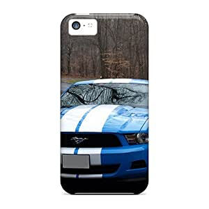 Shockproof Hard Phone Cover For Iphone 5c (Epg5814clyt) Unique Design High Resolution Ford Mustang Skin