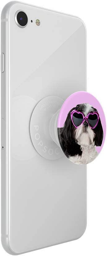 Sassy Shih Tzu PopSockets PopTop PopGrip Slide Otter+Pop /& PopWallet+ : Swappable Top for PopGrip Bases Top only. Base Sold Separately.