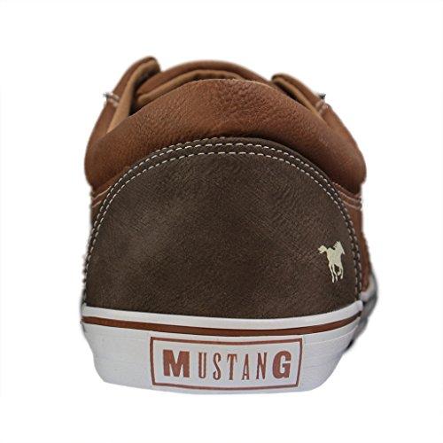 Mustang Scarpe Basse 303 da 4101 Uomo 301 Ginnastica Marrone 4r4wxaRq