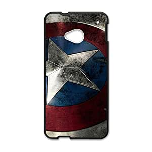JIANADA Captain America Cell Phone Case for HTC One M7