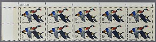 Block 10 1968 US Postal Service Waterfowl Conservation Wood Duck Stamps Scott 1362