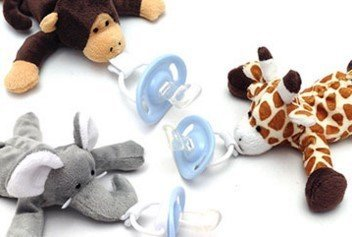 Amazon.com: Supremo Baby Pacifier por cuddlesme | suave ...