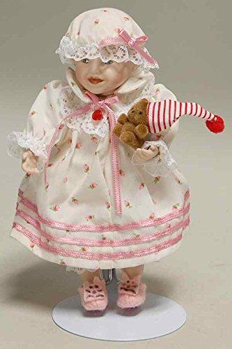 """Sarah Ashton Drake Porcelain 6 """" Doll – # 92035   B07BNVLPHG"""