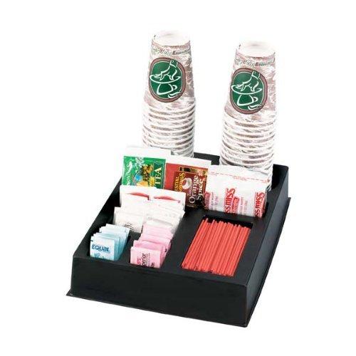 KegWorks Coffee Station Condiment & Stir Stick Countertop Organizer by KegWorks