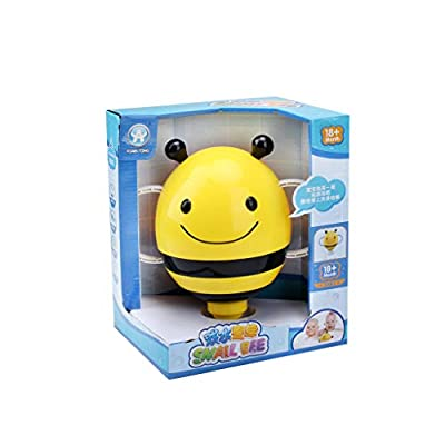O-GAME Cute Cartoon Animal Baby Bath Toy Bathroom Plastic Mini Bee Water Fountain Shower Kids Bathtub Playing Bathing Tools: Home & Kitchen