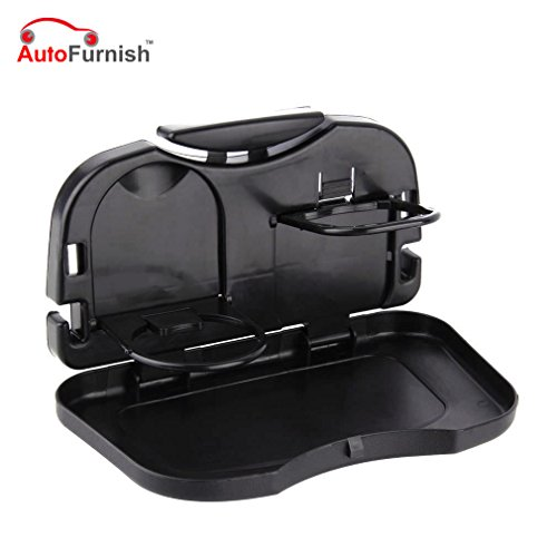 Autofurnish Universal Car Meal Plate & Cup Holder Tray ?