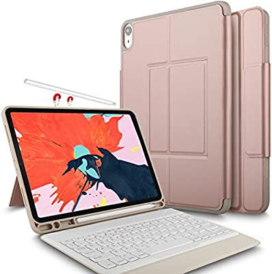 98b0ed187d4 IVSO Keyboard Case For Apple iPad Pro 11 2018 Stand Cover Case with  Wireless Keyboard &