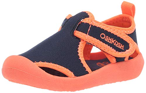 OshKosh B'Gosh Aquatic Girl's and Boy's Water Shoe, fire 8 M US Toddler (Best Water Shoes For Toddlers)