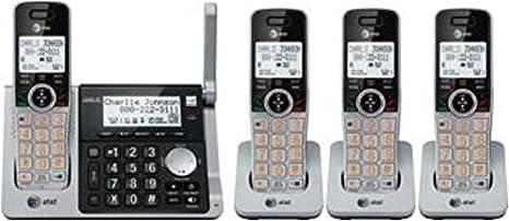 Amazon.com: Teléfonos inalámbricos, 4 unidades ...