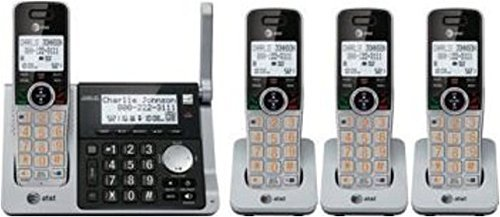 AT&T DECT 6.0 Digital Four Handset Answering System (CL83464) (Certified - Answer System Digital