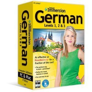 Instant Immersion German Levels 1, 2 & 3 [Old Version]