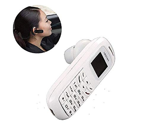Mobile Phone Bluetooth Dialer Earhook Headset Cellphone (White) ()