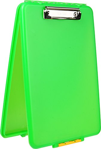Dexas Slimcase Storage Clipboard, Lime - 1517-J85