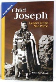 SOCIAL STUDIES 2013 LEVELED READER 6-PACK GRADE 5 CHAPTER 01 ON-LEVEL:  CHIEF JOSEPH: LEADER OF THE NEZ PERCE