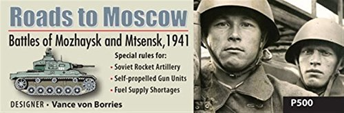 Roads to Moscow by GMT Games (English Manual)